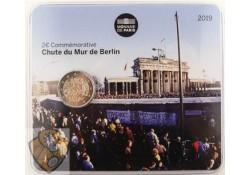 2 euro Frankrijk 2019 'Val van de Berlijnse muur' Bu in blister