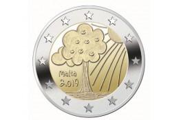 2 Euro Malta 2019 natuur en Milieu Unc Voorverkoop*