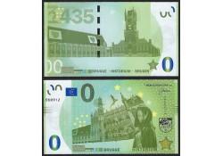 0 Euro biljet België 2018- Brugge