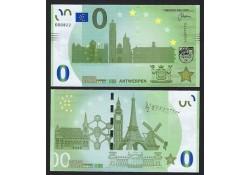 0 Euro biljet België 2018 - Antwerpen