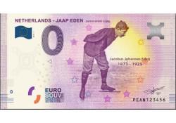 0 Euro biljet Nederland 2019 - Jaap Eden