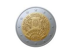 2 Euro Andorra 2019 Bu in blister Concell de la Terra