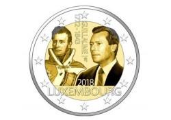2 Euro Luxemburg 2018 Willem I Unc Voorverkoop*