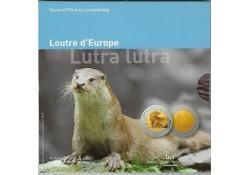 Luxemburg 2011 5 euro 'Otter' Proof