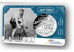 Nederland 2019 Penning in coincard Jaap Eden