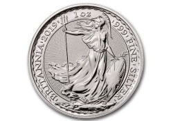 Groot Brittanië 2019 2 Pounds 1 Ounce Zilver