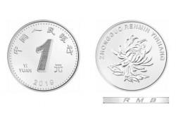 China 2019 1 Yuan Unc