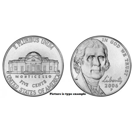 KM+381 U.S.A. 5 Cent 2019 D Unc