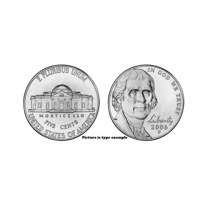 KM+381 U.S.A. 5 Cent 2019 P Unc