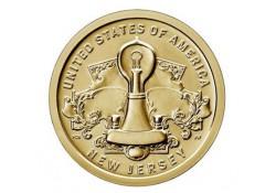 USA 1 dollar 2019 D 'New Jersey' Unc Voorverkoop*