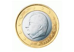 1 Euro België 2002 UNC