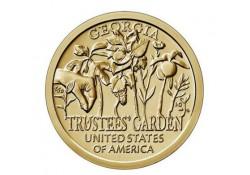 USA 1 dollar 2019 D 'American Innovation Trustees Garden Georgia' Unc
