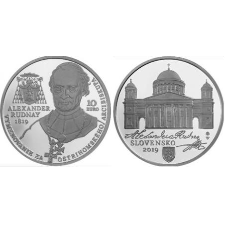 Slowakije 2019 10 Euro Bu 'Alexander Rudnay'