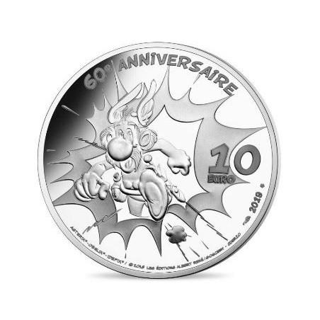 Frankrijk 2019 10 Euro  '60 jaar Asterix Ídéfix'