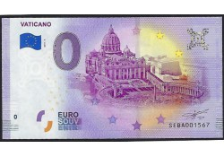 0 Euro biljet Vaticaan 2019 - Vaticano