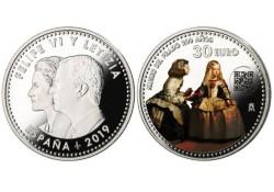 Spanje 2019 30 Euro 'Museum del Prado' Unc