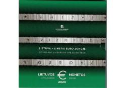 Bu set Litouwen 2020 '5 jaar bij de euro'