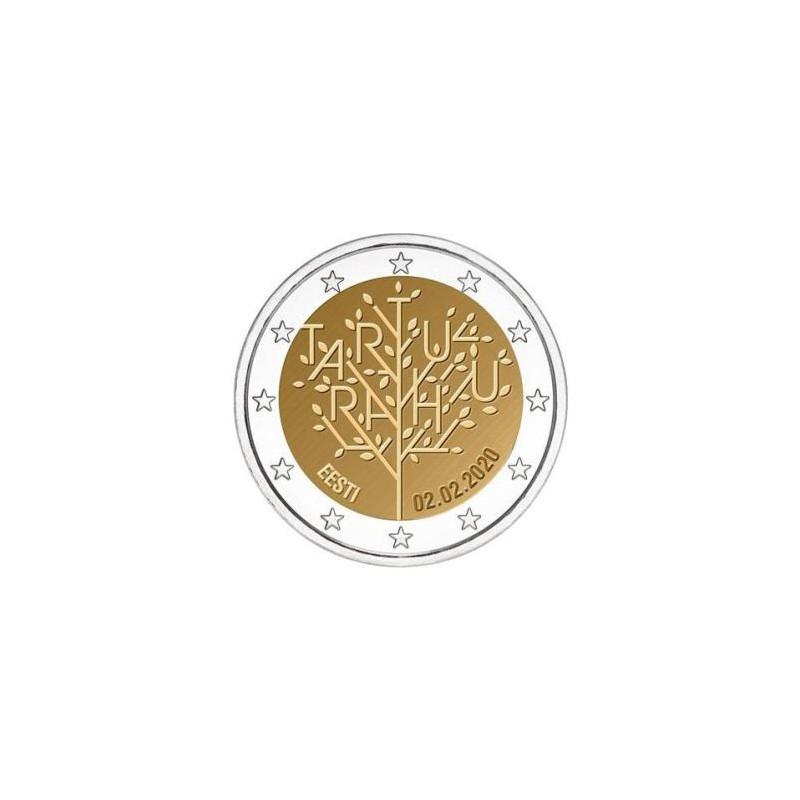 2 Euro Estland 2020 Tartu Unc voorverkoop*