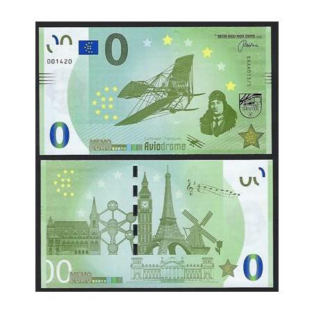 0 Euro biljet Nederland 2018 - Aviodrome