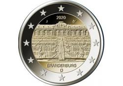 2 Euro Duitsland 2020 F 'Brandenburg' Voorverkoop*