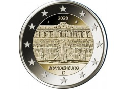 2 Euro Duitsland 2020 D 'Brandenburg' Voorverkoop*