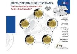 2 Euro Duitsland 2020 ADFG & J 'Brandenburg' BU
