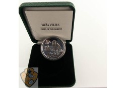 "Letland 2019 5 euro Zilver Proof ""Gift of the Forest'"