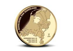Nederland 2020 Penning '75 jaar vrijheid' in munthouder.