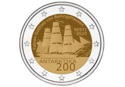 2 Euro Estland 2020 Éxpeditie Antartica' Unc Voorverkoop*