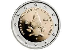 2 euro Italië 2012 'de Brandweer' Unc