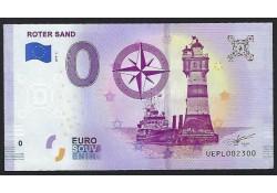 0 Euro biljet Duitsland 2019 - Roter sand