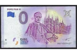 0 Euro Biljet Vaticaan 2019...