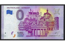 0 Euro Biljet Germany 2020...