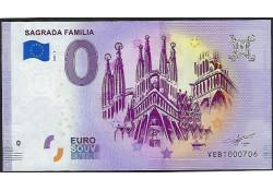 0 Euro Biljet Spanje 2020 -...