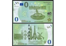 0 Euro biljet België 2018 -...