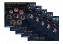 Duitsland 2020 Bu sets ADFG& J