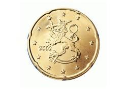 20 Cent Finland 2001 UNC