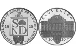 Slowakije 2020 10 Euro Bu...