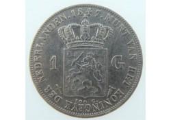 Nederland 1 Gulden 1847...