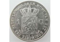 Nederland 1858 1 Gulden...