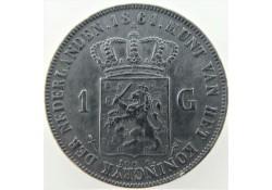 Nederland 1861 1 Gulden...