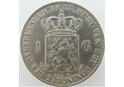 Nederland 1863 1 Gulden...