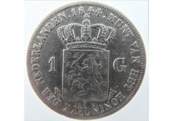 Nederland 1844 1 Gulden...