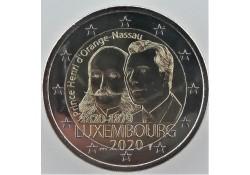 2 Euro Luxemburg 2020...