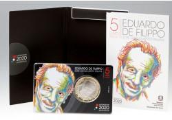 Italië 2020 5 euro 'Eduardo...