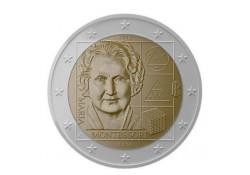 2 euro Italië 2020 'Maria Montessori' Unc