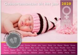 Nederland 2020 Babyset Meisje