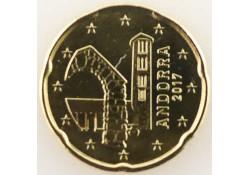 20 cent Andorra 2017 Unc