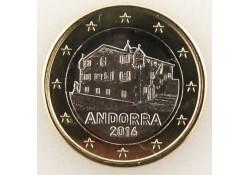 1 Euro Andorra 2016