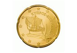 20 Cent Cyprus 2012 UNC